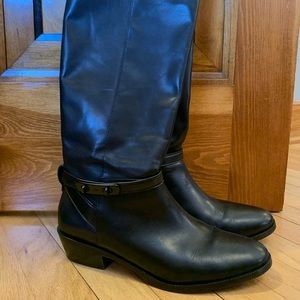 Coach tall boots size 10